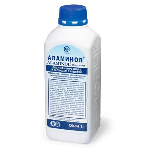 Аламинол – дезинфицирующее средство (1 литр) «НИОПИК»